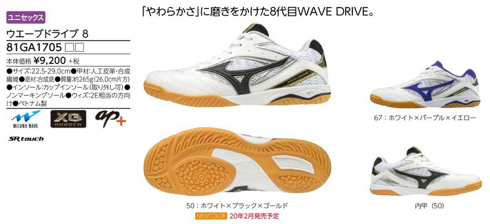 mizuno wave 8 table tennis shoes on sale